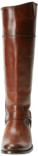 Frye Melissa Arnés Interior Zip Redwood Smooth Vintage Leather-76927