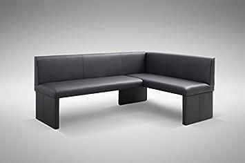 Eckbank modern grau  Design Eckbank Otto modern Kunstleder schwarz - Links: Amazon.de ...