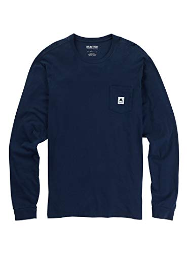 - Burton Men's Colfax Long Sleeve Tee, Dress Blue, XX-Large