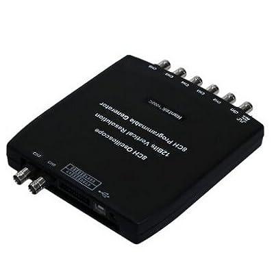 Hantek PC 1008C 8CH Automotive Diagnostic Oscilloscope USB 2.0 Program Generator