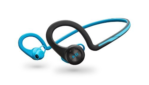 Plantronics BackBeat Fit Bluetooth Headphones - Blue (Certified Refurbished)