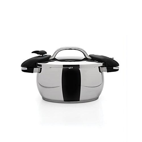 "Berghoff Zeno 10"" Pressure Cooker 6.3Qt, Silver"