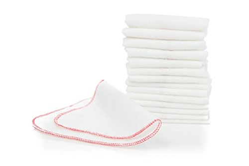 Buttons Flannel Baby Wipes - 15 Pack