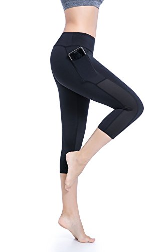 Gratleaf Yoga Pants Gym Leggings Pockets, High Waist Yoga Capris Workout Fitness Yoga Leggings Women – DiZiSports Store