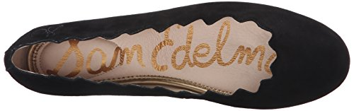 Sam Edelman Womens Francis Balletto In Camoscio Nero