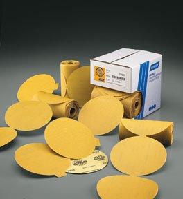 100 per Roll Norton 83806 NTN P80B Gold PSA Disc