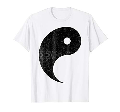 Halloween Shirt Yang And Yin Matching Couples Black -