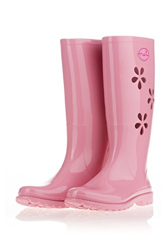 MEI Boots Wellington Size Pink WoMen 5 UK vvwqE7