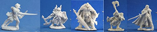 Reaper Bones Collection - Fighter Pack