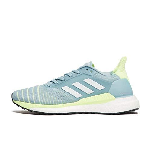 (adidas Solar Glide Women's Running Shoes - SS19-8 - Blue)