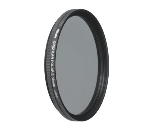 Nikon 2236 58mm Circular Polarizer II Filter Attaches to HN-CP17 lens hoodInterchangeable Lens by Nikon