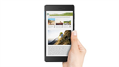 Lenovo Tab 7 Essential, 7-Inch Android Tablet, MediaTek 64-bit (Quad-Core 1.3 GHz) Processor, 16 GB RAM, Black, ZA300146US