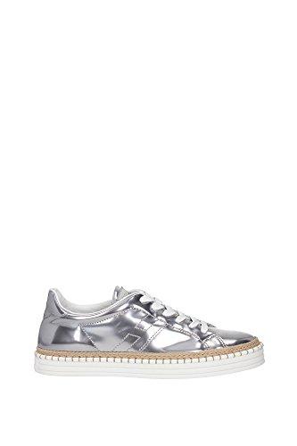 Hogan Sneakers Donna HXW2600U5601ONB200 Pelle Argento