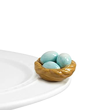 Nora Fleming Bird's Nest Mini - Nora Fleming Robin's Egg Blue Mini A39