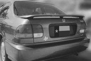 Alerón 96–00Honda Civic Sedan Factory 3Post Ala Trasera