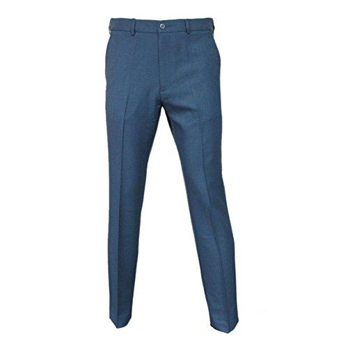 FARAH Mens Roachman Retro Trousers Vintage Denim Blue Size ()