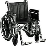 """Easy Care 20"""" Heavy Duty X-Wide Wheelchair, Swing"""
