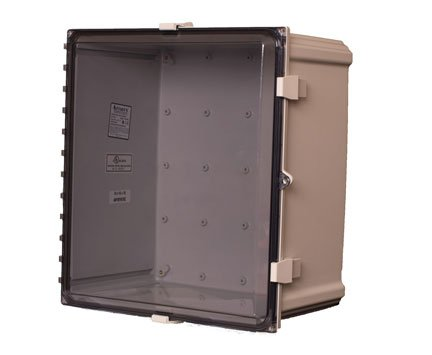AVBcable.com Attabox AH181610C Clear Cover Enclosures, Size 18Lx 16Wx 10D inches