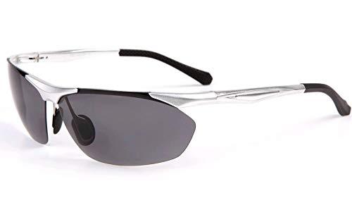 Deportivas Gafas Sol Aire magnesio sunglasses de Playa polarizadas Hombre nbsp;Deportes Espejos Aluminio Mjia de de Libre al Gafas Plata natación Silver de gxqE5AwwY