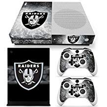 FriendlyTomato Xbox One S Console and Wireless Controller Skin Set - Football NFL - XboxOne S Vinyl -