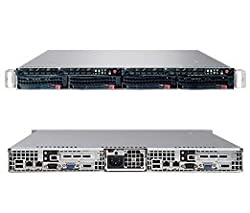 Supermicro SuperServer SYS-6015TW-TB 1U Rm Bb Blk Xeon-dp LGA771 2XSATA 2PCIEX8 2XGBE2 980W