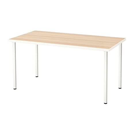 Amazon.com: IKEA LINNMON computadora con patas de ADILS ...