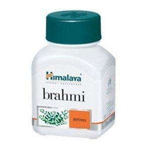 Himalaya Brahmi (Bacopa)memory Herbal Supplement Support -60 Capsules Pack of 3