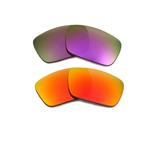 Best SEEK OPTICS Replacement Lenses Oakley FUEL CELL - Red - Oakley Sunglasses Cheap Cell Fuel