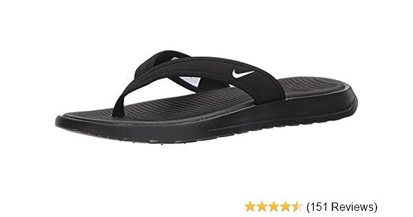 d5240d8d3ca Nike Celso Thong Plus Flip Flop Sandals Womens Black White