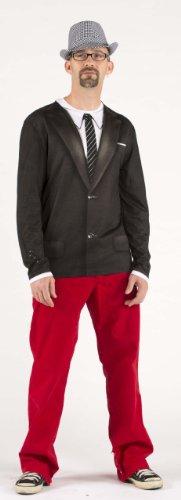 Long Sleeve: 1960's Suit Longsleeve Shirt Size XXL -