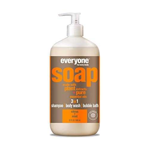 Everyone 3-in-1 Soap, Citrus and Mint, 32 Ounce