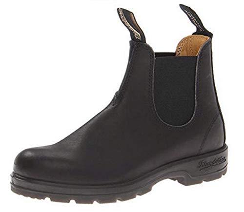 Blundstone Unisex Black Leather 550 Series Boot 9.5 M US Women / 7.5 M US Men (Best Australian Made Work Boots)
