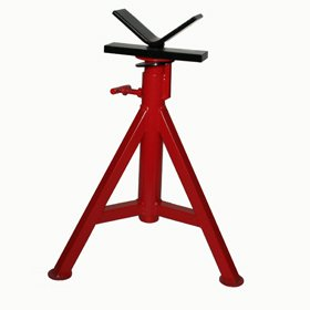 PT 56657 V Head Pipe Stand 22u0026quot;-40u0026quot; Adjustable Pipe ...  sc 1 st  Amazon.com & PT 56657 V Head Pipe Stand 22