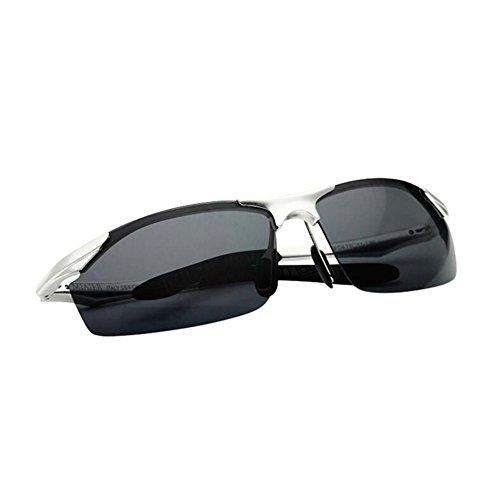 HONEY Sand Color Silver Protección Gafas TAC Para Viajar De Conductor nbsp; Deportes Sol Silver Mg Verdadero Al UV Sand Conducción Hombres Al Aire Casual Polarizadas Filtro Alloy Color Libre Cool nbsp; ApPrAq