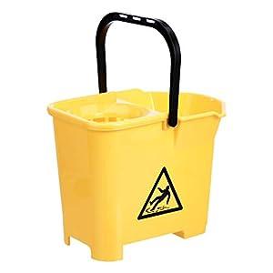 AmazonCommercial - Secchio con strizzatore, 16 litri, confezione da 3 31b8EoD6NML. SS300
