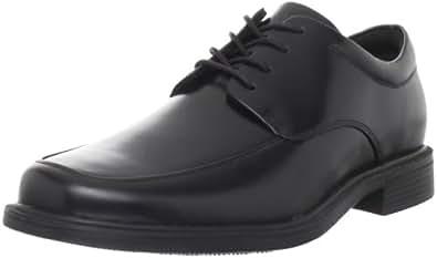 Rockport Men's Evander Moc Toe Oxford,Black,6.5 W US