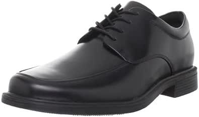 ROCKPORT Men's Evander Moc Toe Oxford-Black-6.5 W