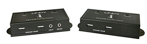 Usa Kvm Extender - LINDY-USA CAT6 HDMI & USB KVM Extender, 50m