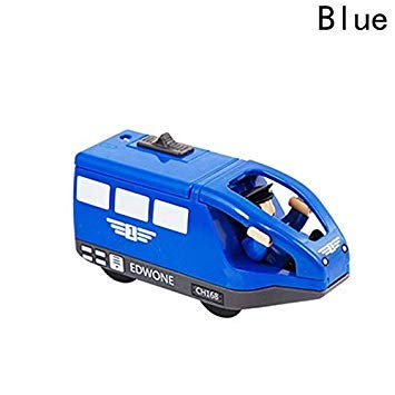 Toy for Boys Kids Vehicle Toys Magnetic Electric Locomotive Track Accessories Wooden BL
