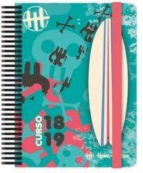 Grafoplás Agenda escolar Surf A5 2 días por página 2018 2019 ...