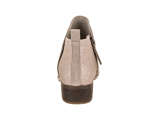 TOMS Womens Deia Boot Oxford Tan Suede/Rose Gold Glimmer 3nt5GC3jFG