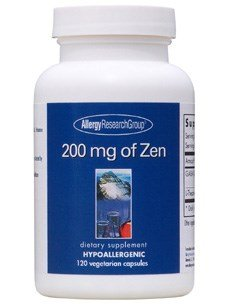 - Allergy Research Group - 200 mg of Zen 120 vcaps