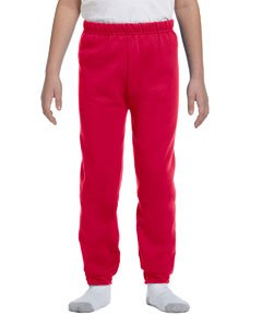 Jerzees Youth 8 oz. NuBlend Fleece Sweatpants M TRUE RED