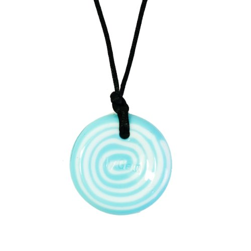 Disc Pendant - Whirlpool - Chew Necklace for Sensory, Oral Motor, Anxiety, Autism, ADHD