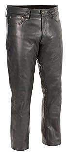 Milwaukee Leather Men's Premium Leather Pants (Black, Size 34) (S) (B01CSIDLUC) | Amazon Products