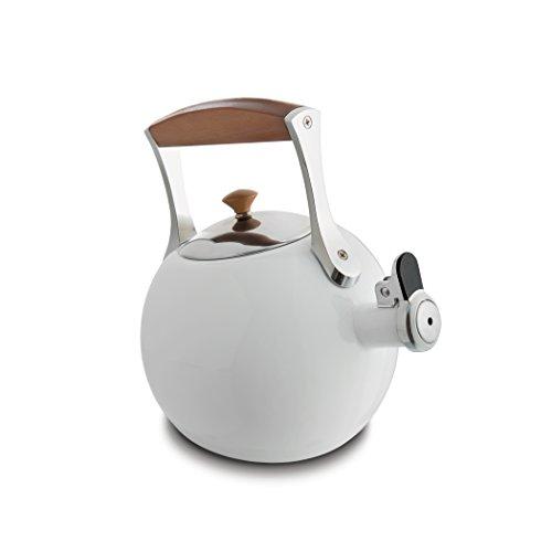 Nambe MT0888 Tea Kettle, White