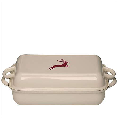 Riess 0105-071 - Molde para horno con tapa (37 cm de diámetro, 26 ...
