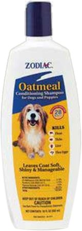 Zodiac Oatmeal Conditioning Shampoo for Dogs and Puppies, 18-ounce, My Pet Supplies