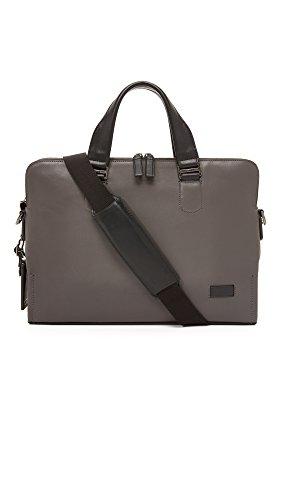 Tumi Men's Harrison Seneca Slim Briefcase, Grey, One Size