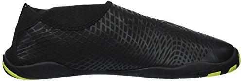 CIOR Männer Frauen Kinder Barfuß Quick-Dry Wasser Sport Aqua Schuhe mit 14 Drainage Löcher für Schwimmen, Wandern, Yoga, See, Strand, Garten, Park, Fahren, Bootfahren Vd.black